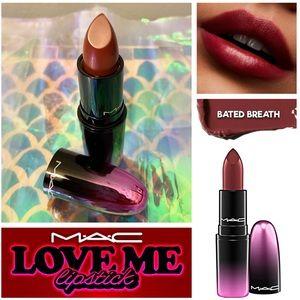 NWOB -MAC Love Me Lipstick - BATED BREATH